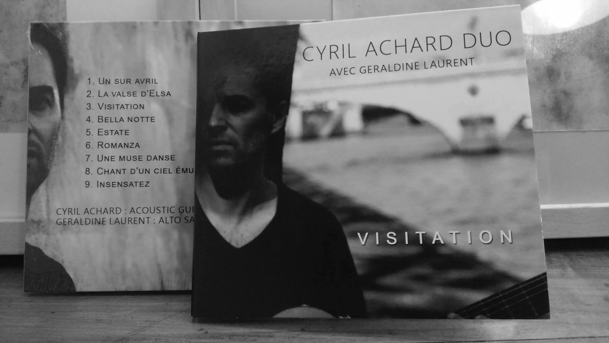 "Cyril Achard ""Visitation"" CD"