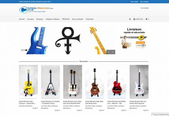 Guitares-Miniatures.com